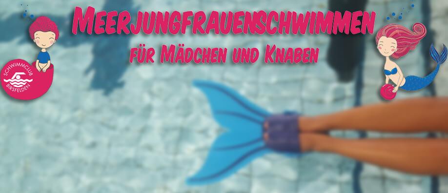 Bericht: Meerjungfrauenschwimmen Schnuppertraining